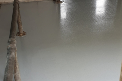 None slip Epoxy coating on docking area on commercial factory