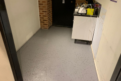 Office, change room kitchen
