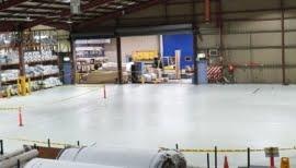 Epoxy Floor Coating in Blind Maker Factory