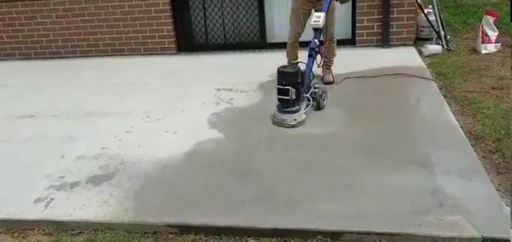 Before Concrete Resurfacing