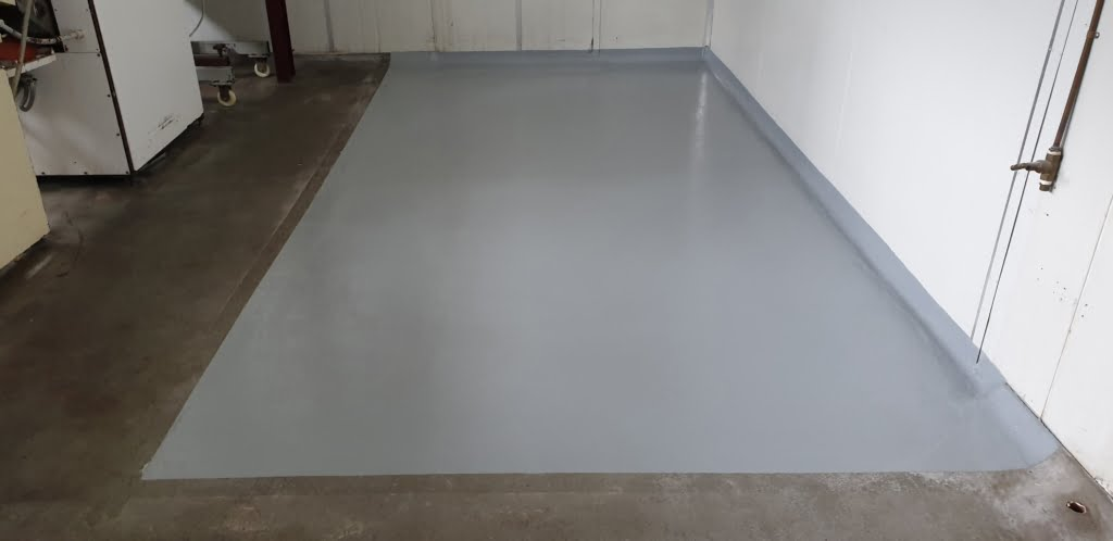epoxy coating for food processing area