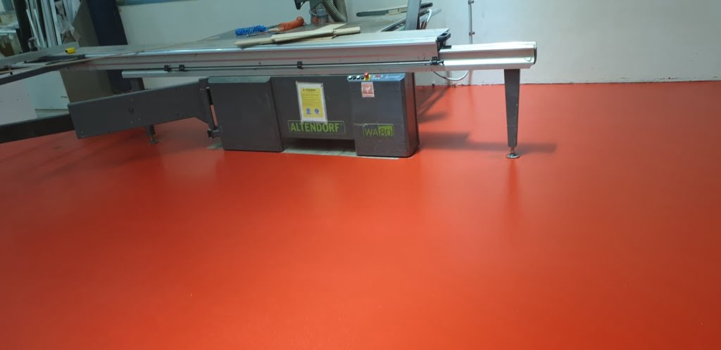 Workshop epoxy coating 2