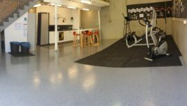 Workshop Epoxy Floor Coating