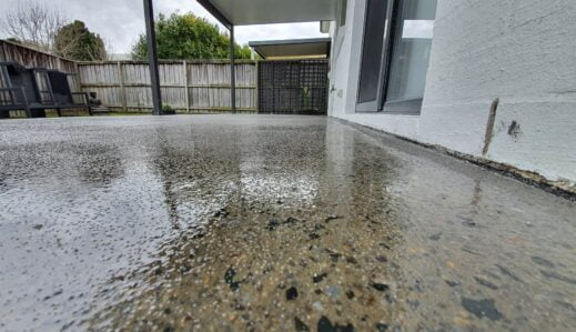 Outdoor Veranda Epoxy and Waterproofing
