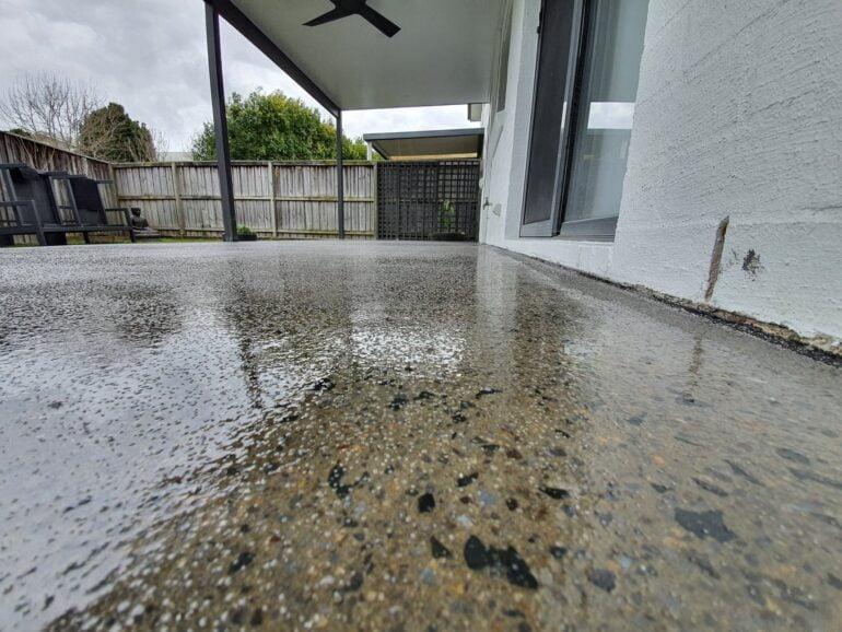 Outdoor Veranda Epoxy and Waterproofing